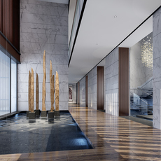 Corridor 111 3D Model