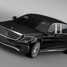 AMG Mercedes Maybach Pullman VV222 2015 3D Model