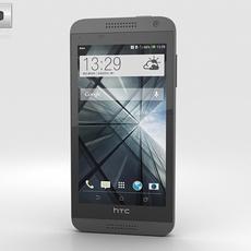 HTC Desire 610 Gray 3D Model