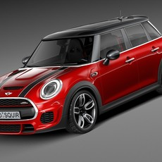 Mini John Cooper Works 5-door 2015 3D Model