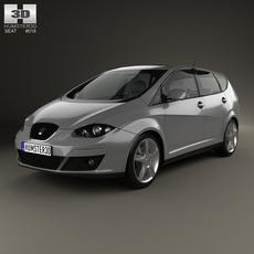 Seat Altea XL 2009 3D Model