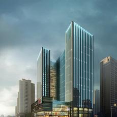 Commercial Plaza 050 3D Model