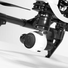DJI Inspire 1 quadcopter 3D Model