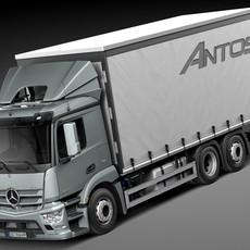 Mercedes Antos Box 2015 3D Model