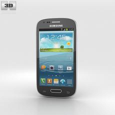Samsung I8200 Galaxy S III Mini VE Black 3D Model