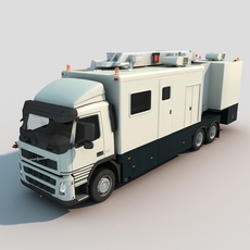 VOLVO Detection Vehicle 3D Model