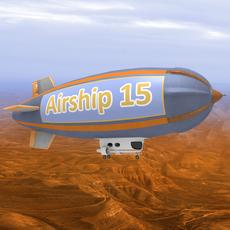 Airship 3D Model