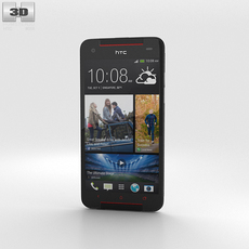 HTC Butterfly S White 3D Model