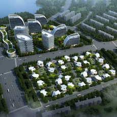 Office buildings 034 3D Model