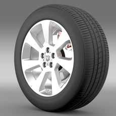Ram Promaster City wheel 2015 3D Model