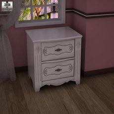 Ashley Exquisite Nightstand 3D Model