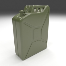 Jerry Can Green 3D Model