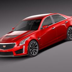 Cadillac CTS-V 2016 3D Model