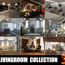 Livingrooms Collection 3 3D Model