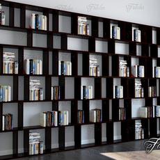 Bookshelf 01 3D Model
