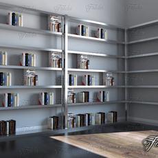 Bookshelf 02 3D Model