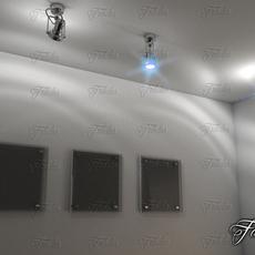 Spotlights 01 3D Model