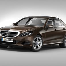 Mercedes Benz E Class (2014) 3D Model