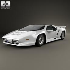 Vector W8 1990 3D Model