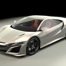 Acura NSX 2015 3D Model