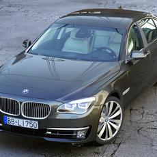 BMW 7 Series Long 2013 3D Model