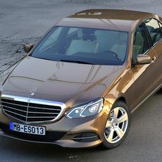 Mercedes Benz E class 2014 3D Model