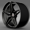 Mclaren 570S coupe rim 2015 3D Model