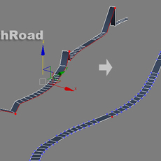 SmoothRoad for 3dsmax 3.0.0 (3dsmax script)