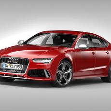 Audi RS7 Sportback (2015) 3D Model