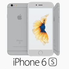 Iphone 6S Silver 3D Model