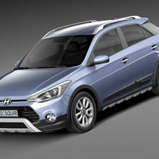 Hyundai i20 Active 2016 3D Model