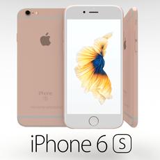 Iphone 6S Rose Gold 3D Model