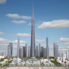 Kingdom Tower Yeddah Burj al-Mamlakah 3D Model