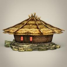 Fantasy Hut 3D Model