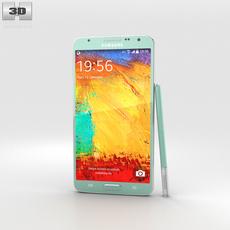 Samsung Galaxy Note 3 Neo White 3D Model