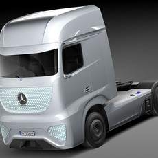 Mercedes-Benz Future Truck FT 2025 3D Model