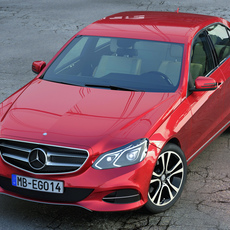 Mercedes Benz E Class Avantgarde 2014 3D Model
