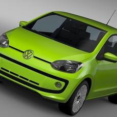 VW UP EcoFuel 3Door 2015 3D Model
