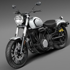 Yamaha Bolt 2016 3D Model