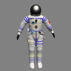 Chinese_Spacesuit 3D Model