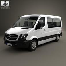 Mercedes-Benz Sprinter Passenger Van CWB SR 2013 3D Model