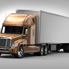 Freightliner Cascadia 3D Model