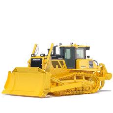 Bulldozer Komatsu D155AXi 3D Model