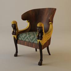 Babylon Armchair 3D Model