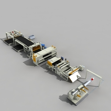 Production line Equipment 3D Model