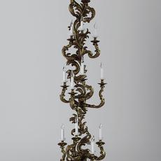 Candelabrum Sconce Light 3D Model