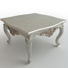 Baroque Coffee Table 3D Model