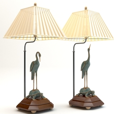 Chinese table lamps 3D Model
