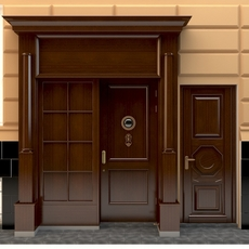 Entrance to a government building 3D Model