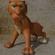 Cartoon Sabertooth Tiger RIGGED 3D Model